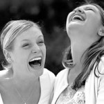 Laughing together improves communications